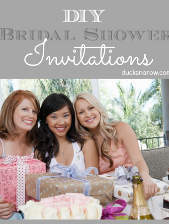 How to throw a really nice bridal shower on a frugal budget