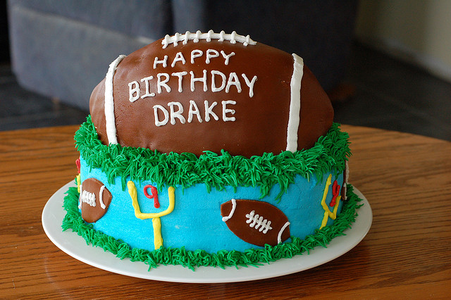 How To Make A Football Cake Ducks N A Row