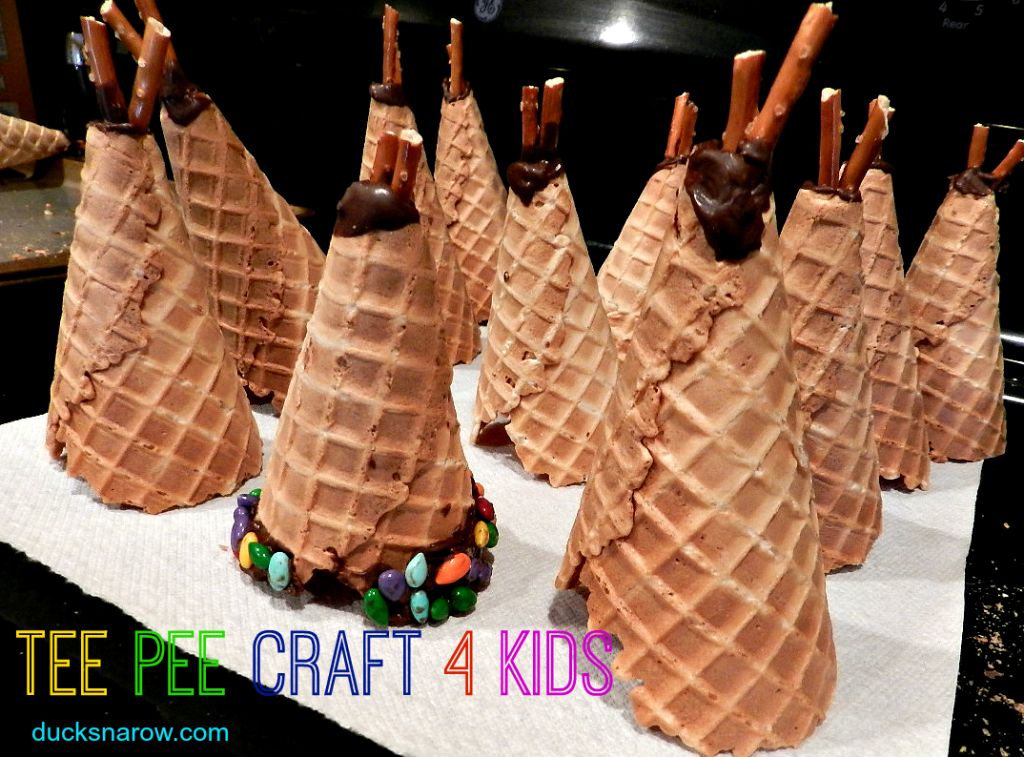 preschool crafts, tee pees, Native Americans, H is for House