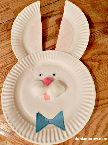 Bunny Crafts For  Year Olds