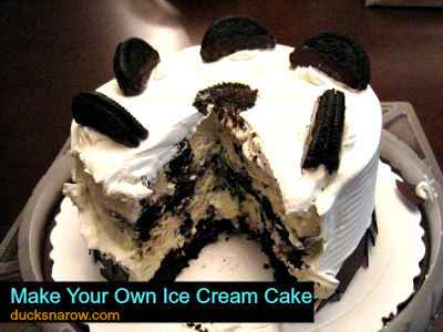 ice cream cakes, birthday cake
