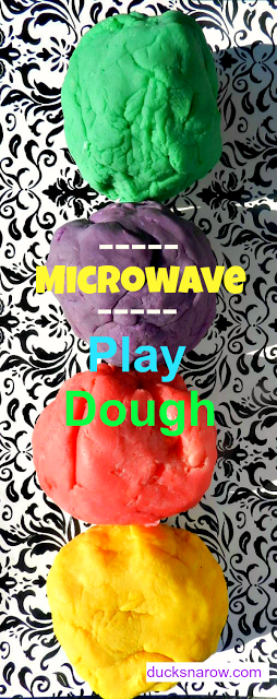 DIY play dough, play dough recipe, play doh
