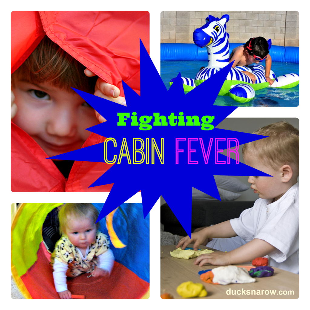 10 ways to fight cabin fever, kids activities, family fun