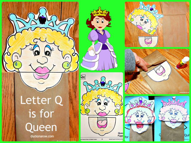 Q is for queen