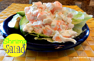 low carb recipes, seafood, salad