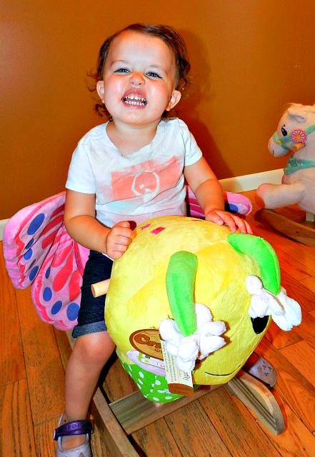Little butterfly toy rocker