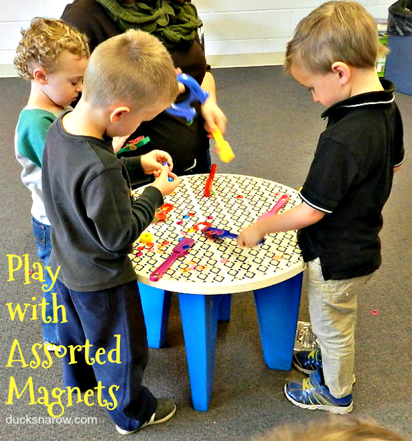 magnets, learning, fun, kids