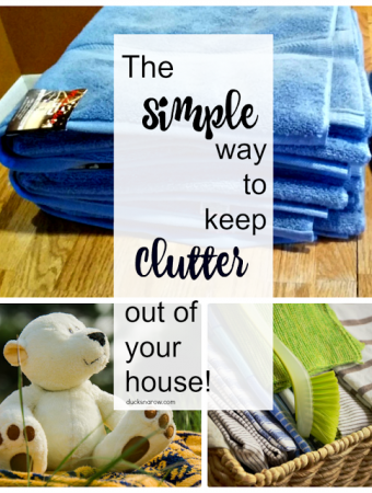 Simple organizing tip for your home