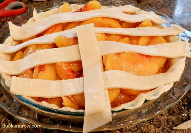 recipes, desserts, fruit pie, lattice work pie crust