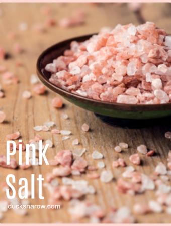 pink salt tip