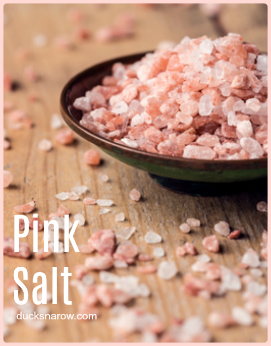 Himalayan Pink Salt - how to keep it from clumping in a salt shaker #tips