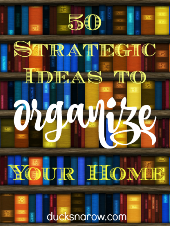Great tips from an expert teach you how to organize your home