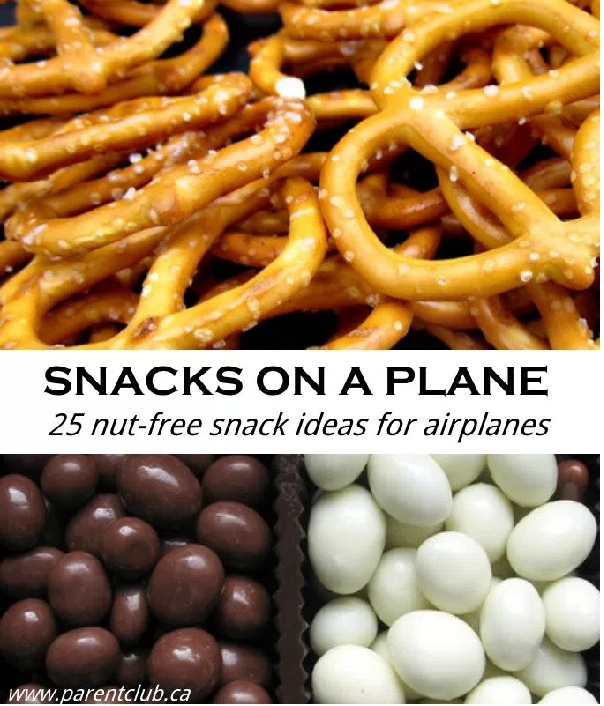 25 Nut-free Snacks for Kids for plane travel