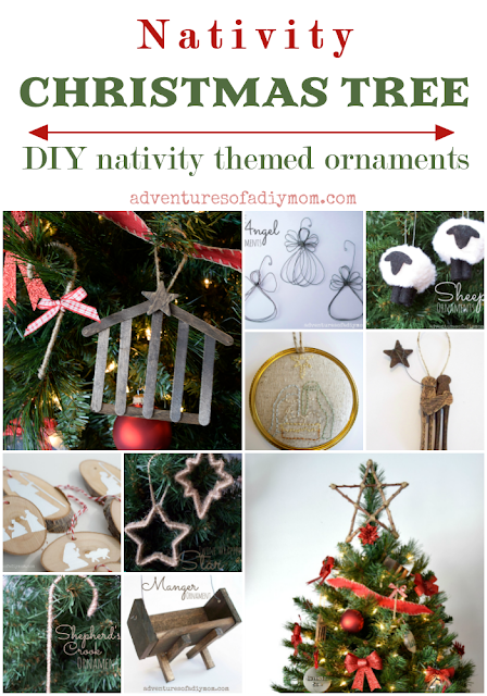 Nativity Theme DIY ornaments