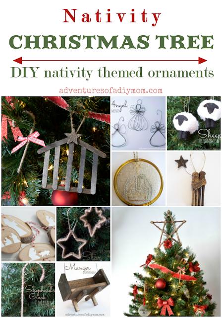 Nativity Theme DIY ornaments