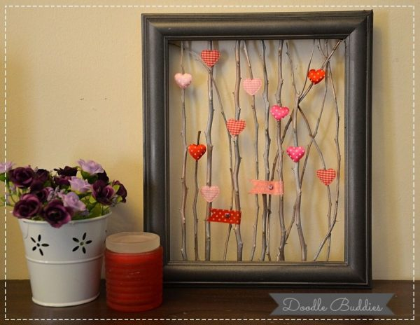 DIY picture frame