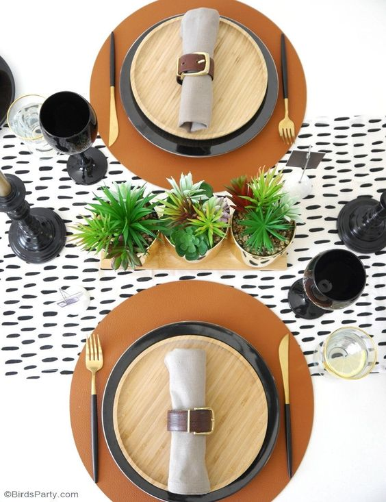 Father's Day tablescape ideas