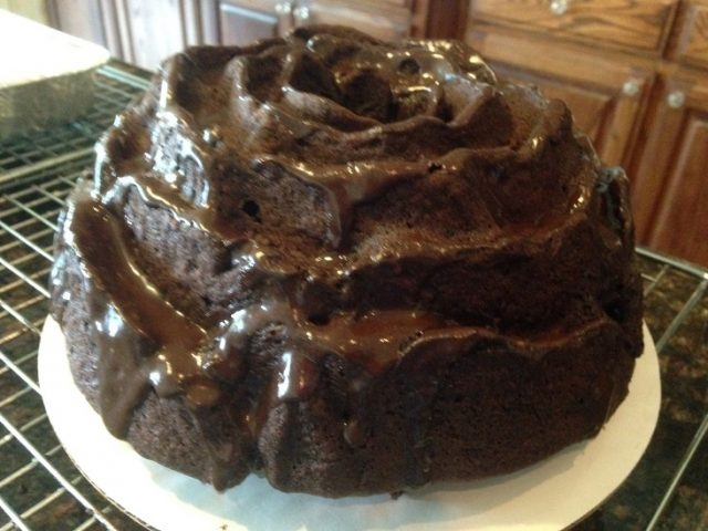 Milk chocolate almond bundt cake recipe