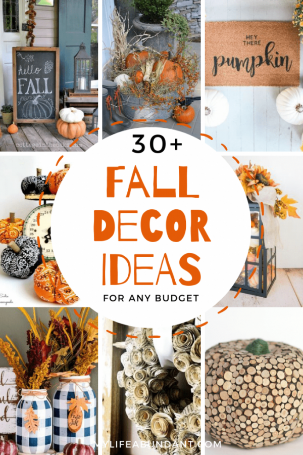 Fall Decor Ideas from My Life Abundant